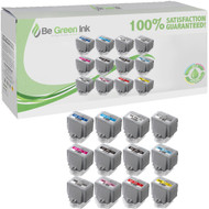 Canon PFI-1000MBK,1000PBK,1000C,1000M,1000Y,1000PC,1000PM,1000GY,1000PGY,1000R,1000B,1000CO Cartridge 12 Pack Savings Compatible