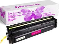 Be Green Ink HP 202X CF503X MFP M281fdw M254dw Magenta Replacement Toner Cartridge for LaserJet Pro MFP M281cdw M281fdn M254nw M254dn M280 (Magenta 3,200 Yield)