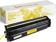 Be Green Ink HP 202X CF502X MFP M281fdw M254dw Yellow Replacement Toner Cartridge for LaserJet Pro MFP M281cdw M281fdn M254nw M254dn M280 (Yellow 3,200 Yield) (BGI CF502X Yellow)