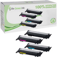 Samsung CLP-404, CLT-K404S, CLT-C404S, CLT-M404S, CLT-Y404S Toner 4 Pack Savings Compatible