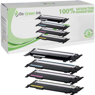 Samsung CLT-406, CLT-K406S, CLT-C406S, CLT-M406S, CLT-Y406S Toner 4 Pack Savings Compatible