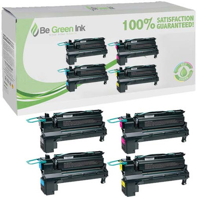 Lexmark C792X1CG, C792X1KG, C792X1MG, C792X1YG Toner Cartridge 4pk 20,000 Yield Savings Compliant