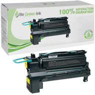 Lexmark X792X1YG Yellow Toner Cartridge BGI Eco Series Compliant