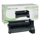 Lexmark C780 C782 C780H1KG Hi-Yield (10K) Black Return Program Toner BGI Eco Series