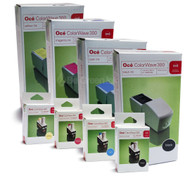 OCE ColorWave 300 29953904, 29953905, 29953906, 29953907 4-Pack Ink Cartridge and Printhead Combo Pack Original Genuine