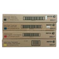 Xerox 700 Digital Color Press 6R1375, 6R1376, 6R1377, 6R1378 Hi-Yield (B 20K; C,M,Y 22K) 4-Pack Toner Original Genuine