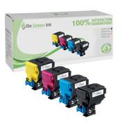 Konica Magicolor 4750DN A0X5130, A0X5230, A0X5330, A0X5430 Hi-Yield (6K) 4-Pack Toner BGI Eco Series
