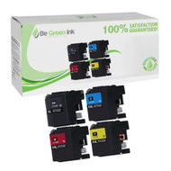 Brother LC107BK/LC105 Ink Cartridge Super High Yield 4 Pack Savings Pack BGI Eco Series Compatible