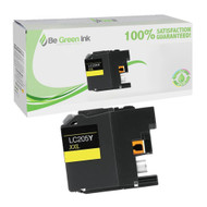 Brother LC205Y High Yield Yellow Ink Cartridge BGI Eco Series Compatible