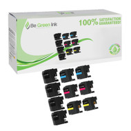 Brother LC207/LC205 Ink Cartridge High Yield 10-Pack Savings Pack BGI Eco Series Compatible