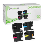 Brother LC207/LC205 Ink Cartridge High Yield 4-Pack Savings Pack BGI Eco Series Compatible