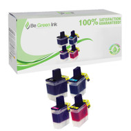 Brother LC41 4-Pack Inkjet Cartridge Savings Pack BGI Eco Series Compatible