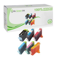 Canon BCI-3E Inkjet Cartridge 6-Pack Savings Pack BGI Eco Series Compatible
