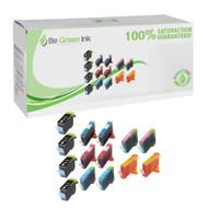 Canon BCI-3E Inkjet Cartridge Savings Pack (Includes 4 black, 2 cyan, 2 magenta, 2 photo cyan, 2 photo magenta and 2 yellow cartridges) BGI Eco Series Compatible