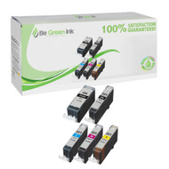 Canon CLI-221 Ink Cartridge 5-Pack Savings Pack BGI Eco Series Compatible