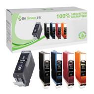 Canon CLI-8 / PGI-5bk Ink Cartridge 5-Pack Savings Pack BGI Eco Series Compatible