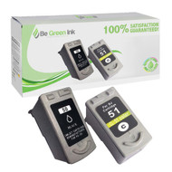 Canon PG-50, CL-51 Ink Cartridge 2-Pack Savings Pack BGI Eco Series Compatible