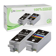 Canon PGI-35B & CLI36 Ink Cartridge 2-Pack Savings Pack BGI Eco Series Compatible