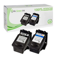 Canon Remanufactured PG-210XL / CL-211XL High Yield 2-Pack Savings Pack BGI Eco Series Compatible
