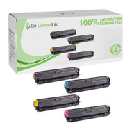 HP 307A Laser Cartridge Savings Pack for Color LaserJet CP5200 Series (C,Y,M,K) BGI Eco Series Compatible