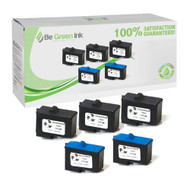 Dell 7Y743,7Y745 Remanufactured Ink Cartridge Five Pack Savings Pack BGI Eco Series Compatible