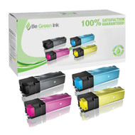 Dell Color Laser 2130cn / 2135cn High Yield Toner Cartridge Savings Pack (K,C,M,Y) BGI Eco Series Compatible