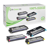 Dell Color Laser 3110cn / 3115cn High Capacity Toner Cartridge Savings Pack (K,C,M,Y) BGI Eco Series Compatible