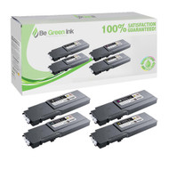Dell Color Laser C3760, C3765dnf Toner Cartridge Savings Pack BGI Eco Series Compatible