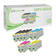 Epson T068 Remanufactured Ink Cartridge 10-Pack Savings Pack BGI Eco Series Compatible