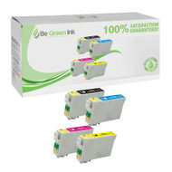 Epson T068 Remanufactured Ink Cartridge 4-Pack Savings Pack BGI Eco Series Compatible