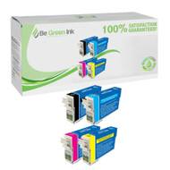 Epson T126 Remanufactured Ink Cartridge 4-Pack Savings Pack BGI Eco Series Compatible
