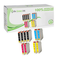 Epson T200 Remanufactured Ink Cartridge 10-Pack Savings Pack BGI Eco Series Compatible