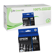 Epson Ultra High-Capacity Black Ink Twinpack (370 x 2 Yield) BGI Eco Series Compatible