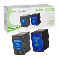 HP 21 & 22 C9351 & C9352 Remanufactured Ink Cartridge Two Pack Savings Pack BGI Eco Series Compatible