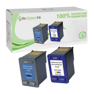 HP 27 & 28 C8727 & C8728 Remanufactured Ink Cartridge Two Pack Savings Pack BGI Eco Series Compatible