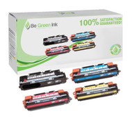 HP 308A & 311A Color LaserJet 3700 Laser Toner Cartridge Savings Pack (K/C/M/Y) BGI Eco Series Compatible