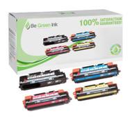 HP 308A & 311A Color LaserJet 3700 Laser Toner Cartridge Savings Pack (K/C/M/Y) BGI Eco Series Compatible
