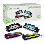 HP 314A Color LaserJet 3000, 2700 Laser Toner Cartridge Savings Pack (K,C,M,Y) BGI Eco Series Compatible