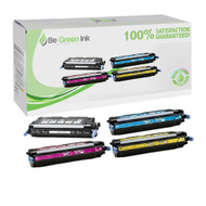 HP 503A Color LaserJet 3800, CP3505 Laser Toner Cartridge Savings Pack (K/C/M/Y) BGI Eco Series Compatible