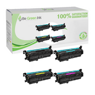 HP 201X, CF400X, CF401X, CF402X, CF403X Toner Cartridge Compatible Saving Pack