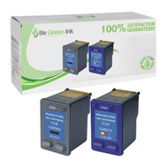 HP 56 & 57 (C9321FN#140) Remanufactured Ink Cartridge Two Pack Savings Pack BGI Eco Series Compatible