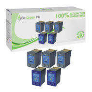 HP 56 & 57 C6656 & C6657 Remanufactured Ink Cartridge Five Pack Savings Pack BGI Eco Series Compatible