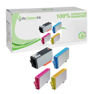 HP 564XL Remanufactured Ink Cartridge 4 Pack Savings Pack BGI Eco Series Compatible