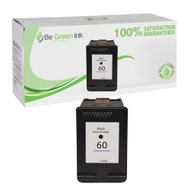 HP 60 CC640WN Remanufactured Black Ink Cartridge BGI Eco Series Compatible