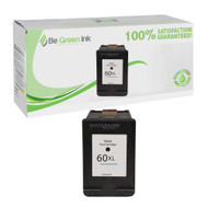 HP 60XL CC641WN Remanufactured Black Ink Cartridge BGI Eco Series Compatible