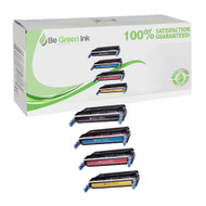 HP 641A Color LaserJet 4600, 4650 Laser Toner Cartridge Savings Pack (K/C/M/Y) BGI Eco Series Compatible