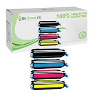 HP 642A Color LaserJet CP4005, CP4005dn Laser Toner Cartridge Savings Pack (K/C/M/Y) BGI Eco Series Compatible