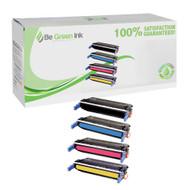 HP 643A Color LaserJet 4700 Laser Toner Cartridge Savings Pack (K/C/M/Y) BGI Eco Series Compatible