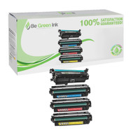 HP 646 Color LaserJet CM4540 Toner Cartridge Savings Pack (K,C,M,Y) BGI Eco Series Compatible