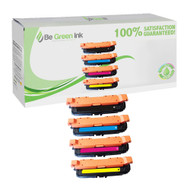 HP 648A Color LaserJet CP4025, CP4525 Laser Toner Cartridge Savings Pack (K/C/M/Y) BGI Eco Series Compatible